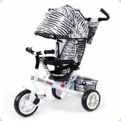 Триколісний велосипед Baby Tilly Zoo-Trike BT-CT-0005 White