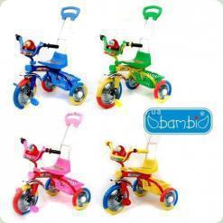 Триколісний велосипед Bambi B 2-2 / 6011 Зелений