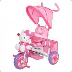 Триколісний велосипед Bambi Hello Kitty M1661