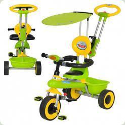 Триколісний велосипед Bambi M 5366-2 Зелений