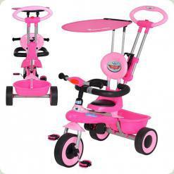 Триколісний велосипед Bambi M 5366-3 Рожевий