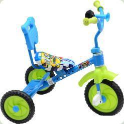 Триколісний велосипед Bambi M1190 Блакитний