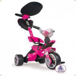 Триколісний велосипед Injusa Bios Girl Рожевий (3282)