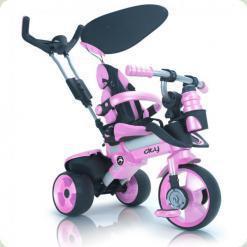 Триколісний велосипед Injusa City Trike 3262-003 Рожево-чорний