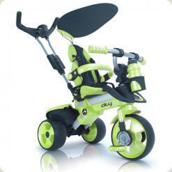 Триколісний велосипед Injusa City Trike 3263-004 Зелено-чорний