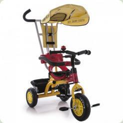 Триколісний велосипед Lexus Trike 750 Жовто-червоний