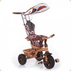 Триколісний велосипед Lexus Trike Safari (надувні колеса) Жираф