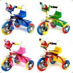 Триколісний велосипед Profi Trike B 2-1 / 6010 Синій
