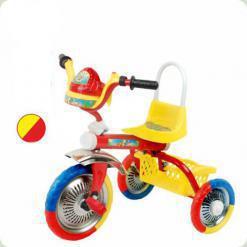 Триколісний велосипед Profi Trike B 2-1 / 6010 Жовтий