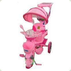 Триколісний велосипед Profi Trike ET A18-9-1 Рожевий