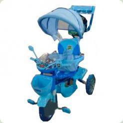 Триколісний велосипед Profi Trike ET A18-9-1 Синій