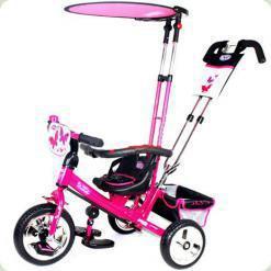 Триколісний велосипед Profi Trike Eva Foam Рожевий (M 5360-2)