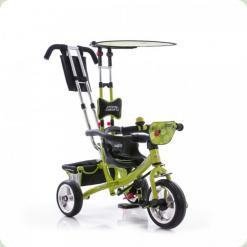 Триколісний велосипед Profi Trike Eva Foam Зелений (М 5360-3)