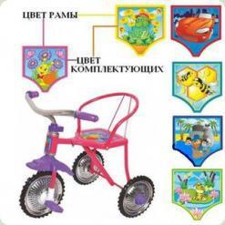 Триколісний велосипед Profi Trike LH 701 Рожевий