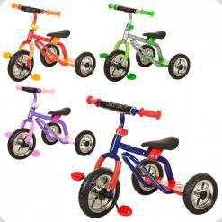 Триколісний велосипед Profi Trike M 0688-3 Сіро-зелений