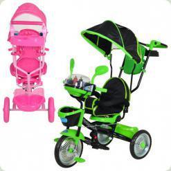 Триколісний велосипед Profi Trike M 1653 Рожевий
