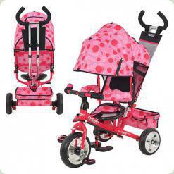 Триколісний велосипед Profi Trike М 5363-8-1 Eva Foam Рожевий