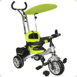 Триколісний велосипед Profi Trike M0692 Eva Foam Зелений