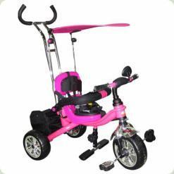 Триколісний велосипед Profi Trike M0695 Eva Foam Малиновий