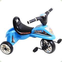 Триколісний велосипед Profi Trike Titan M5344 Блакитний
