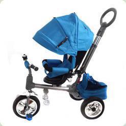 Триколісний велосипед Turbo Trike M 3112-1 Синій