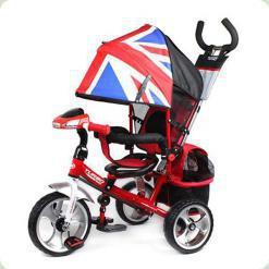 Триколісний велосипед Turbo Trike M 3125-2H Червоний