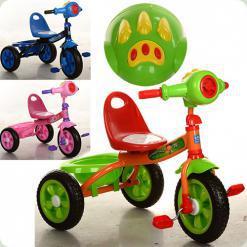 Триколісний велосипед Turbo Trike M 3170-1 Зелений
