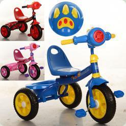 Триколісний велосипед Turbo Trike M 3170-2 Рожевий