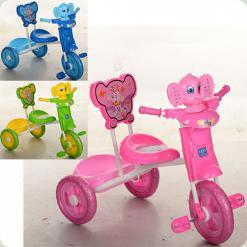 Триколісний велосипед Turbo Trike M 3171 Рожевий