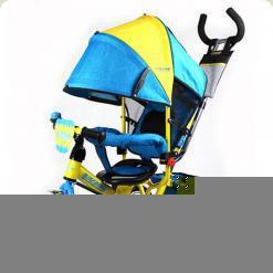 Триколісний велосипед Turbo Trike M5361-01UKR Жовто-блакитний