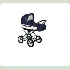 Універсальна коляска Roan Marita Lux 19 - SK Синій з білим