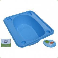 Ванночка Tega прямокутна (670 * 780 * 230) зі зливом TG-028 - light blue