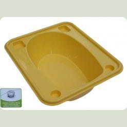 Ванночка Tega прямокутна (670 * 780 * 230) зі зливом TG-028 - yellow