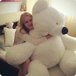 Ведмідь сидячий «Бублик» №6, 200 см