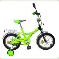 Велосипед 2-х кол. PROFI P1835 (салатово-чорний)