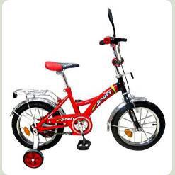 Велосипед 2-х кол. PROFI P1836 (червоно-чорний)