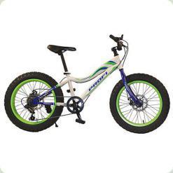 """Велосипед 20"""" Profi 20XD05-1 Білий/Зелений"""