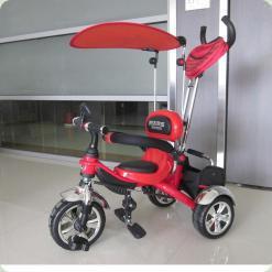 Велосипед 3-х колісний Mars Trike надувні (червоний)