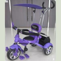 Велосипед 3-х колісний Mars Trike надувні (фіолетовий)