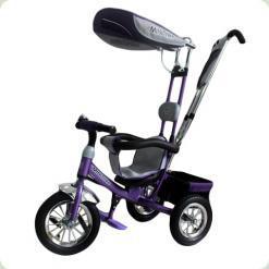 Велосипед 3-х колісний Mini Trike надувні (фіолетовий)