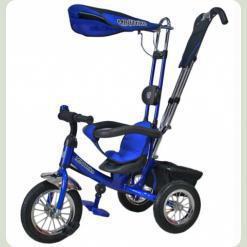"""Велосипед 3-х колісний Mini Trike надувні (синій) 10""""8"""""""