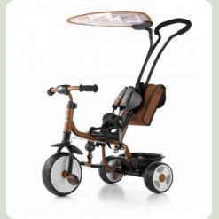 Велосипед 3х кол. M.Mally Boby 2015 з підніжкою (brown)