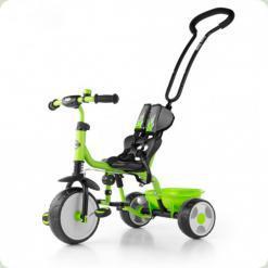 Велосипед 3х кол. M.Mally Boby 2015 з підніжкою (green)