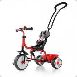Велосипед 3х кол. M.Mally Boby 2015 з підніжкою (red)