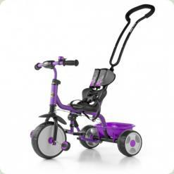 Велосипед 3х кол. M.Mally Boby 2015 з підніжкою (violet)