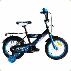 "Велосипед Alexis-Babymix 12"" R888-12 (blue)"