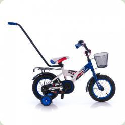 """Велосипед Azimut 12 """"MyBike Py Синьо-білий"""