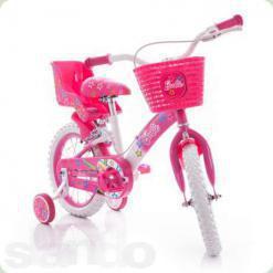 """Велосипед Azimut Барбі 18"""" Рожевий"""