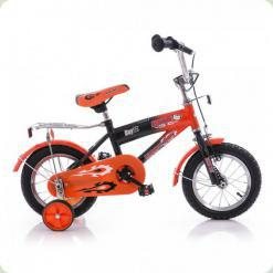 """Велосипед Azimut Bear 12"""" Чорно-помаранчевий"""