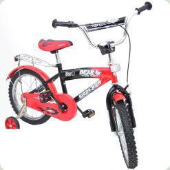 """Велосипед Azimut Bear 16 """"Червоно-чорний"""